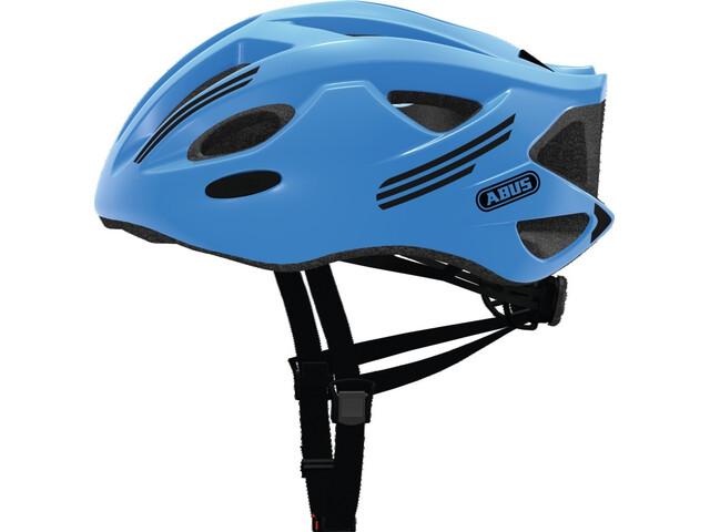 ABUS S-Cension Cykelhjelm, neon blue
